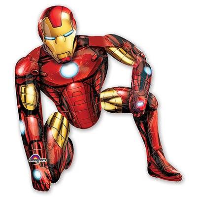 Ходячая фигура Железный человек (116 х 93 см)
